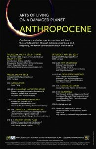 Anthropocene: Arts of Living on a Damaged Planet (upcoming event at UCSC)